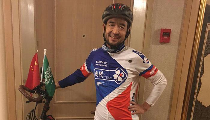 مسلم صيني يسافر من الصين إلى السعودية باستخدام الدراجة لأداء فريضة الحج